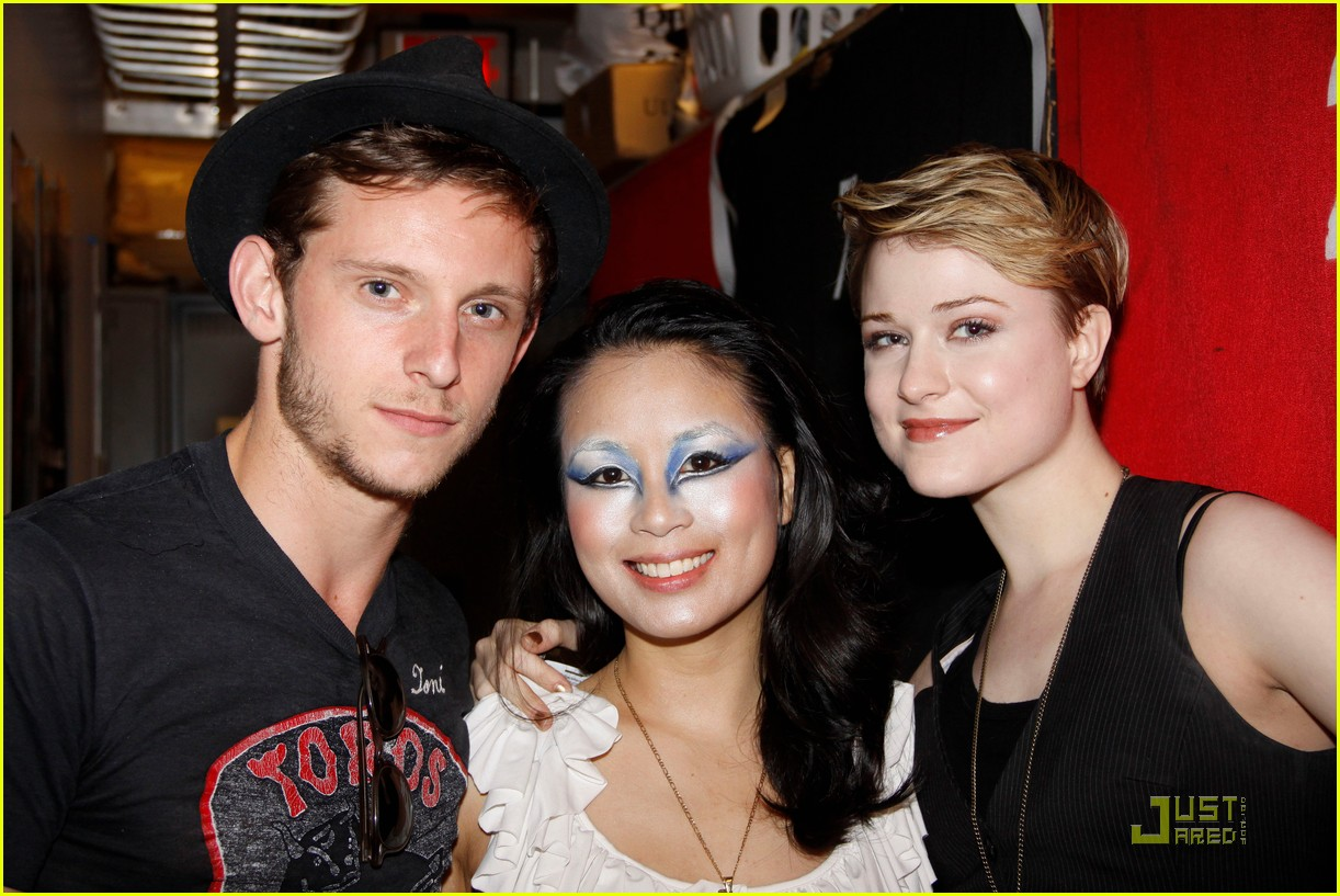 evan rachel wood jamie bell back together 072557451