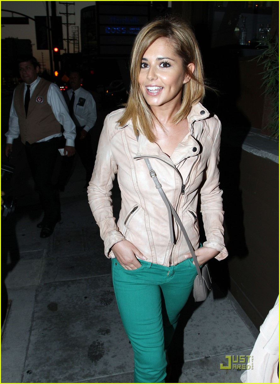 cheryl cole sushi dinner with derek hough 13