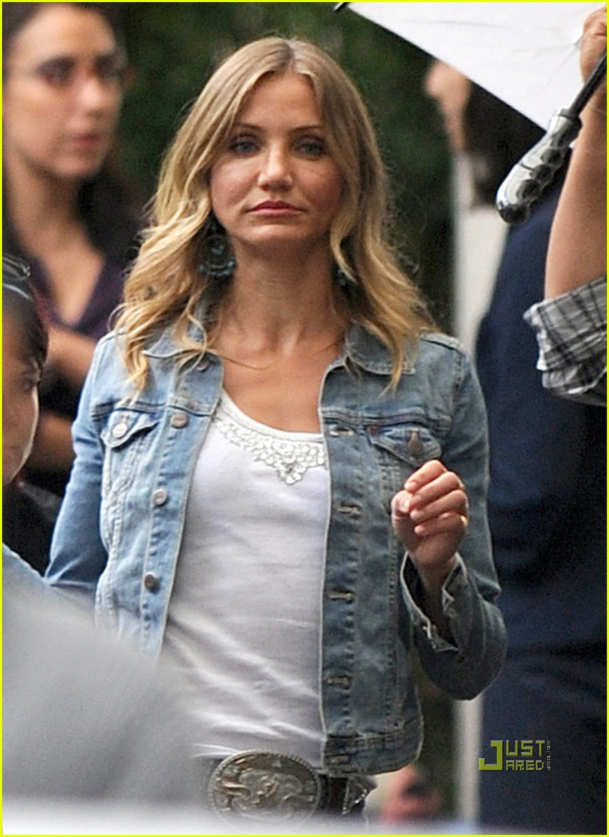 cameron diaz denim jacket gambit 052562034