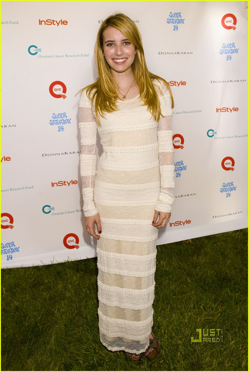 emma roberts chord overstreet super sunday 04