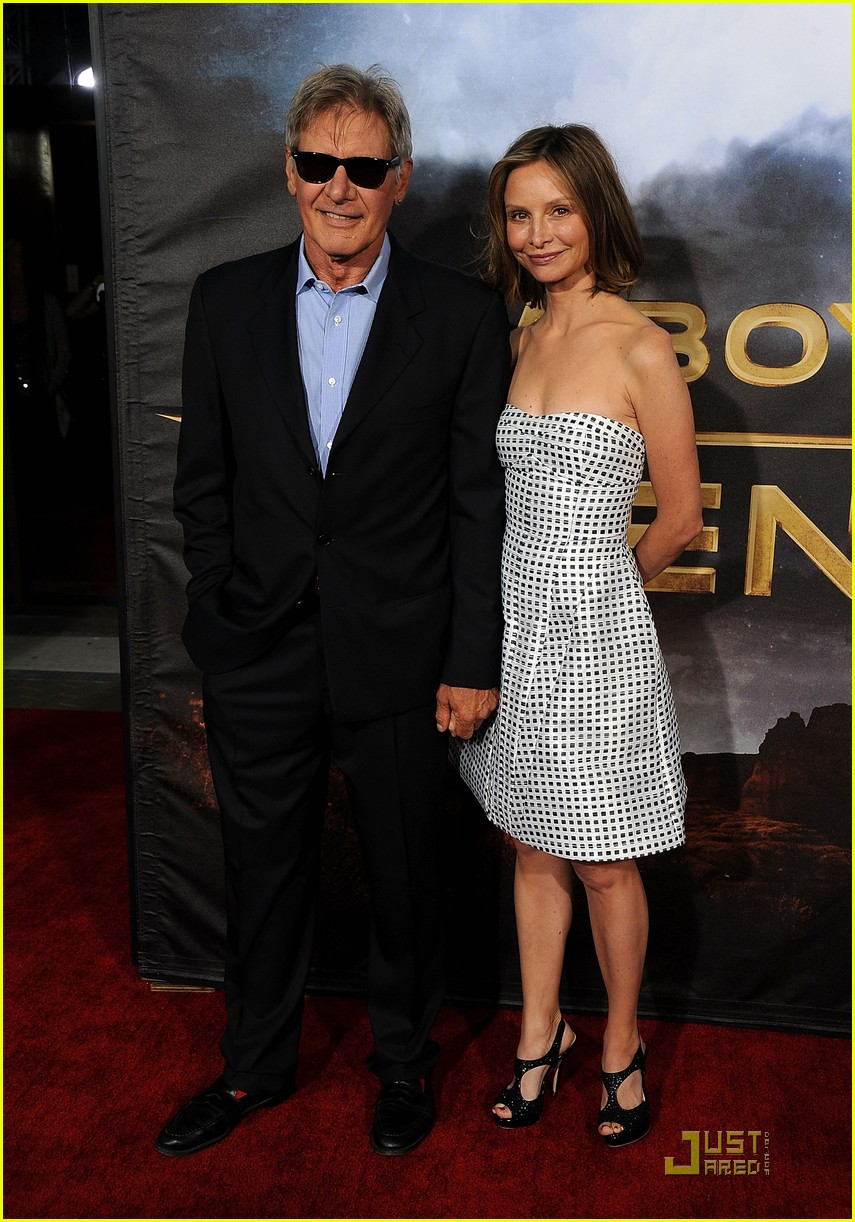 harrison ford calista premiere 042563309