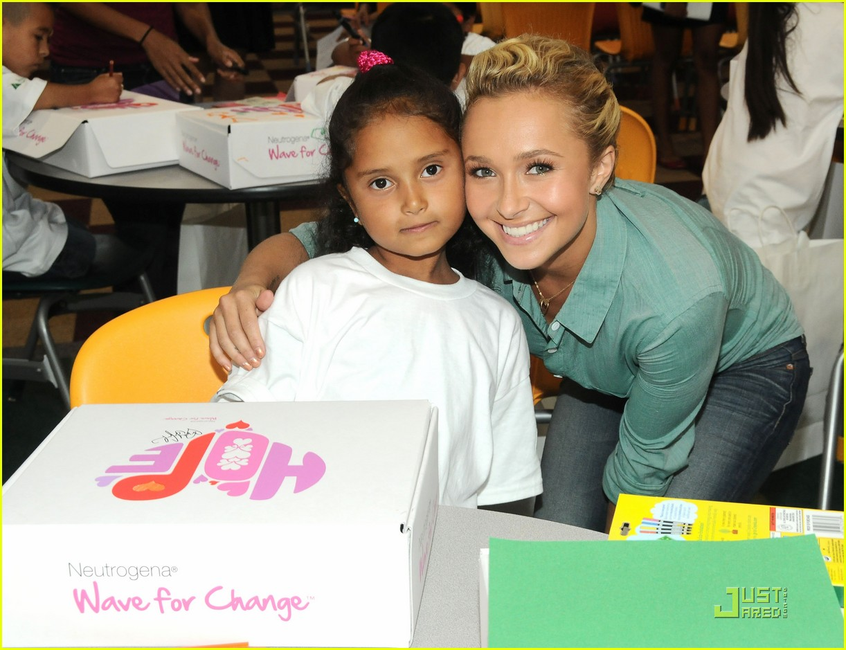 vanessa hudgens hayden panettiere wave for change 04