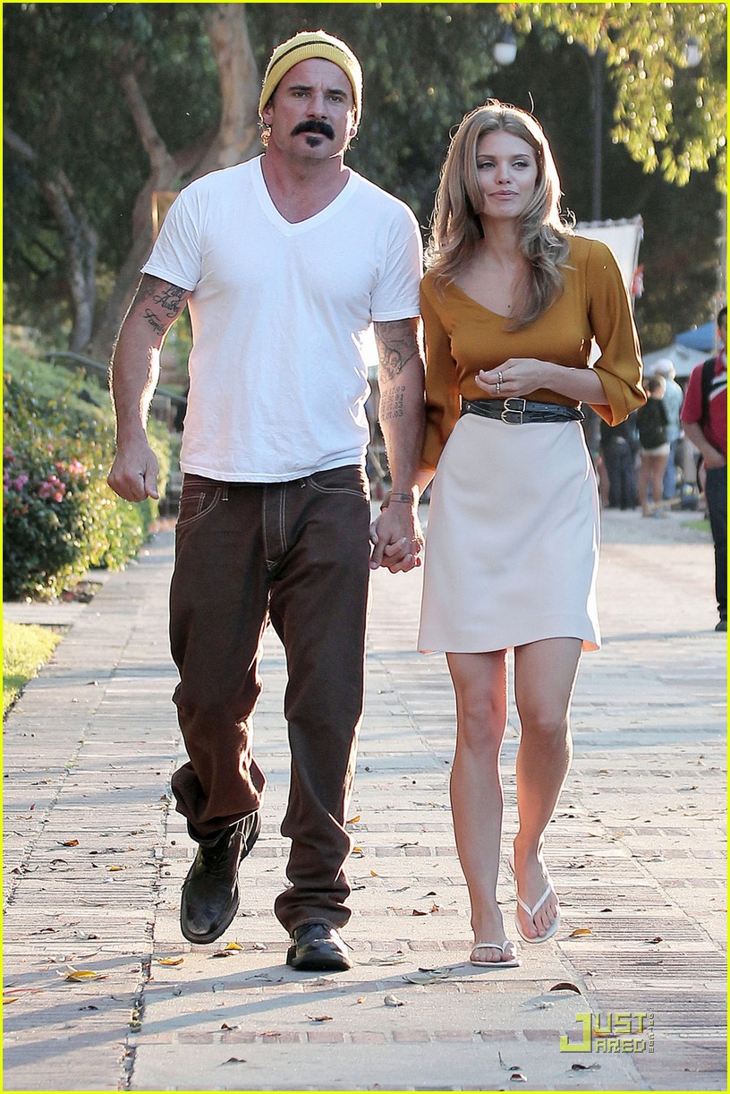 AnnaLynne McCord & Dominic Purcell: New Couple Alert ... Dominic Purcell And Annalynne Mccord
