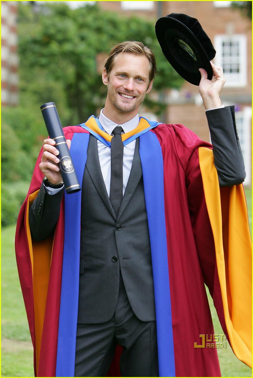 alexander skarsgard honorary degree leeds 08