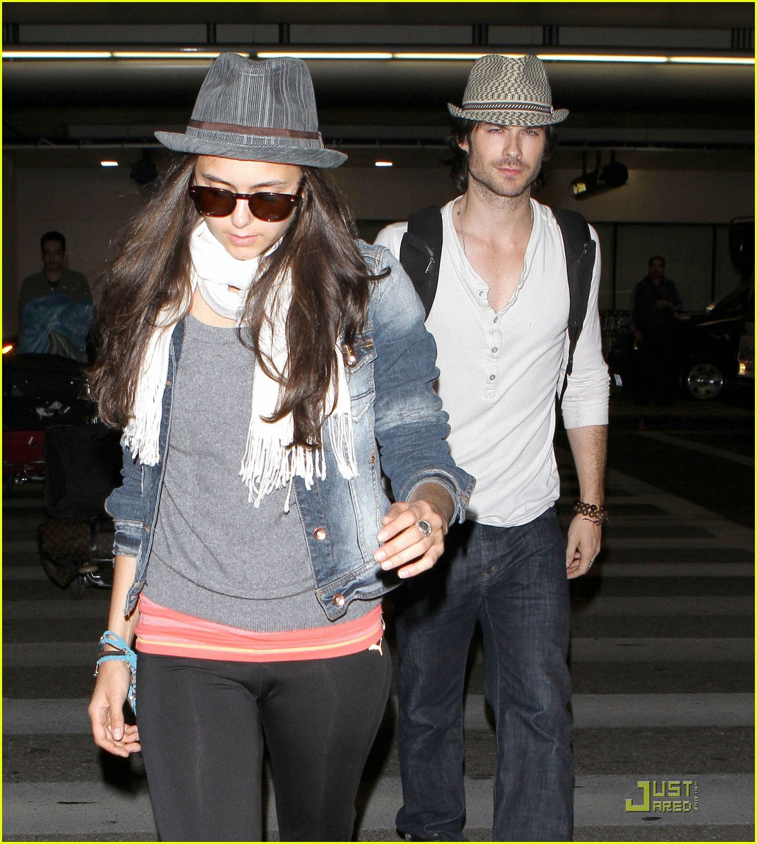 ian somerhalder lax landing with nina dobrev 012558178
