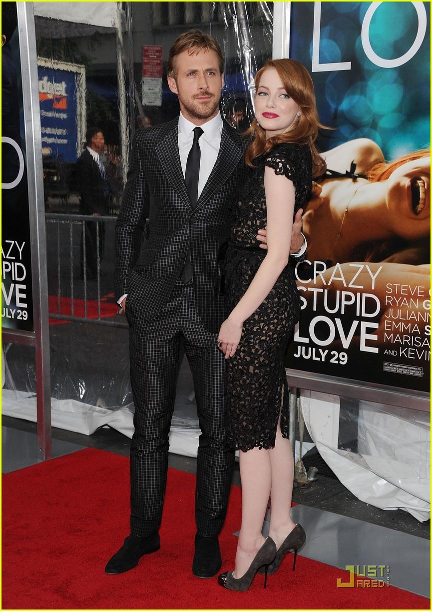 emma stone ryan gosling crazy stupid love premiere 01