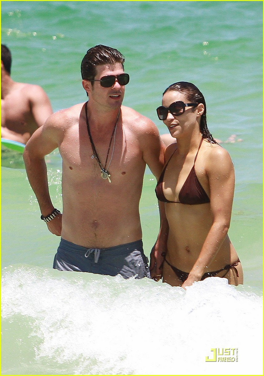 robin thicke paula patton miami mates 02