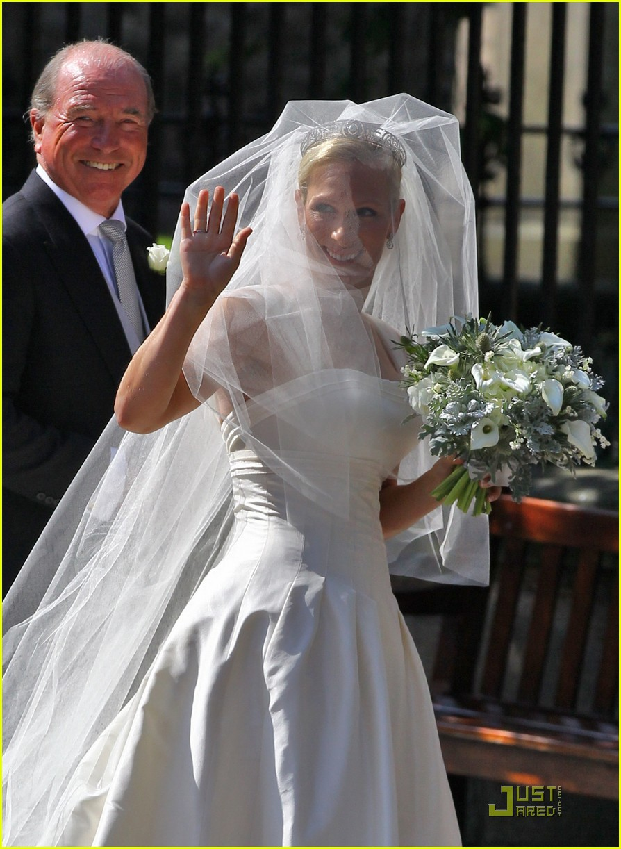 prince william kate zara phillips wedding 21