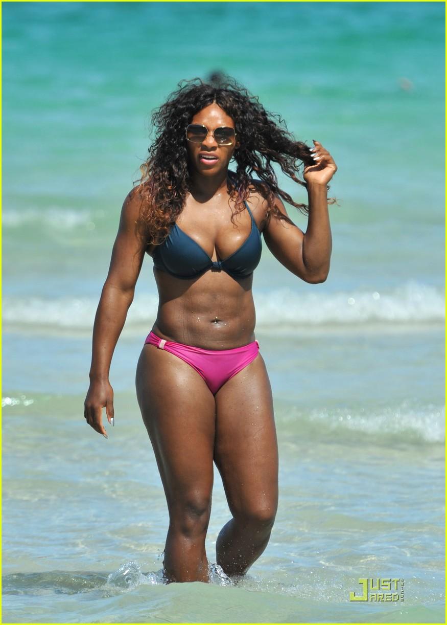 Serena Williams Bikini Ebony Magazine