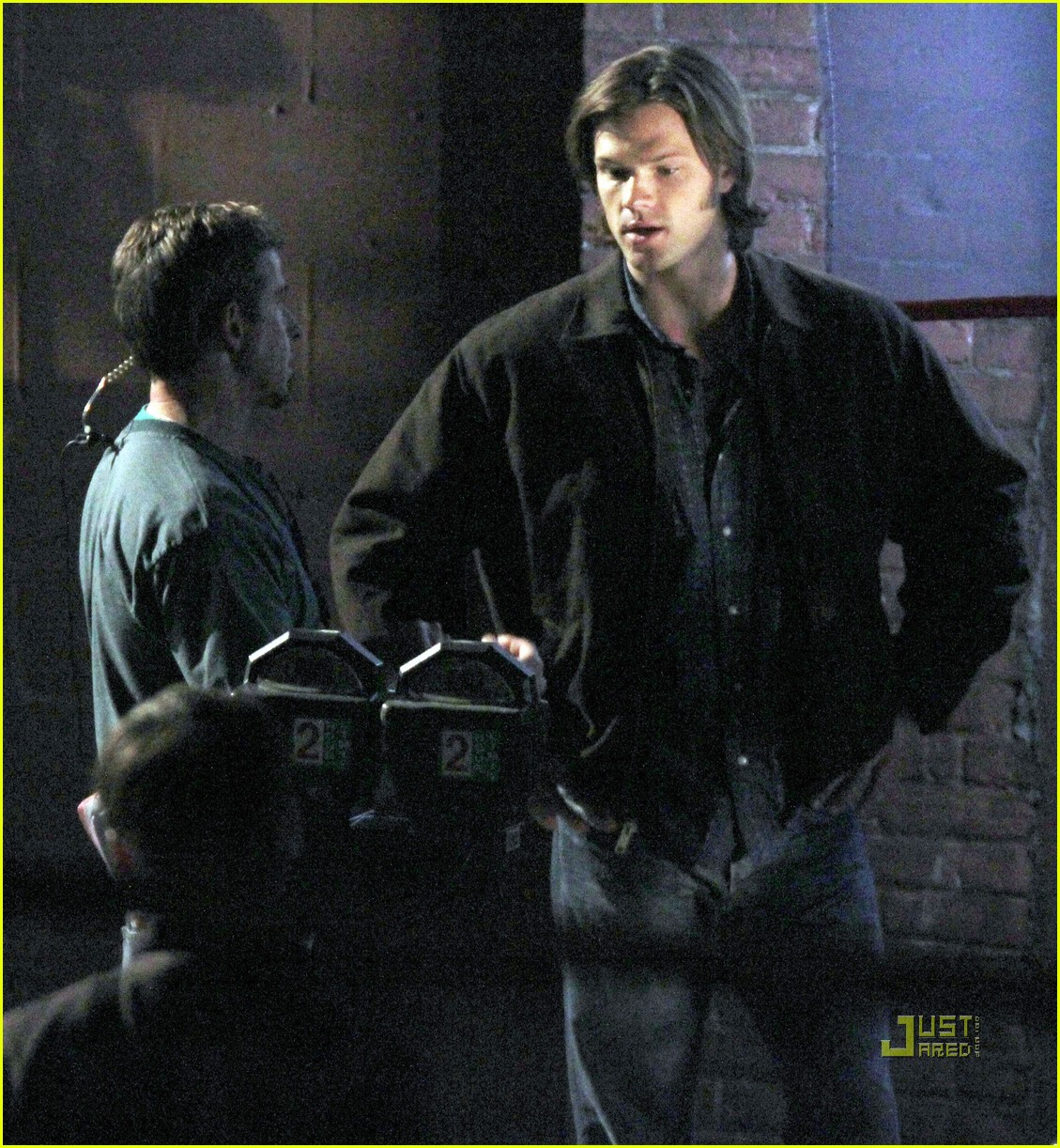 jared padalecki jensen ackles supernatural night shoot 052572046