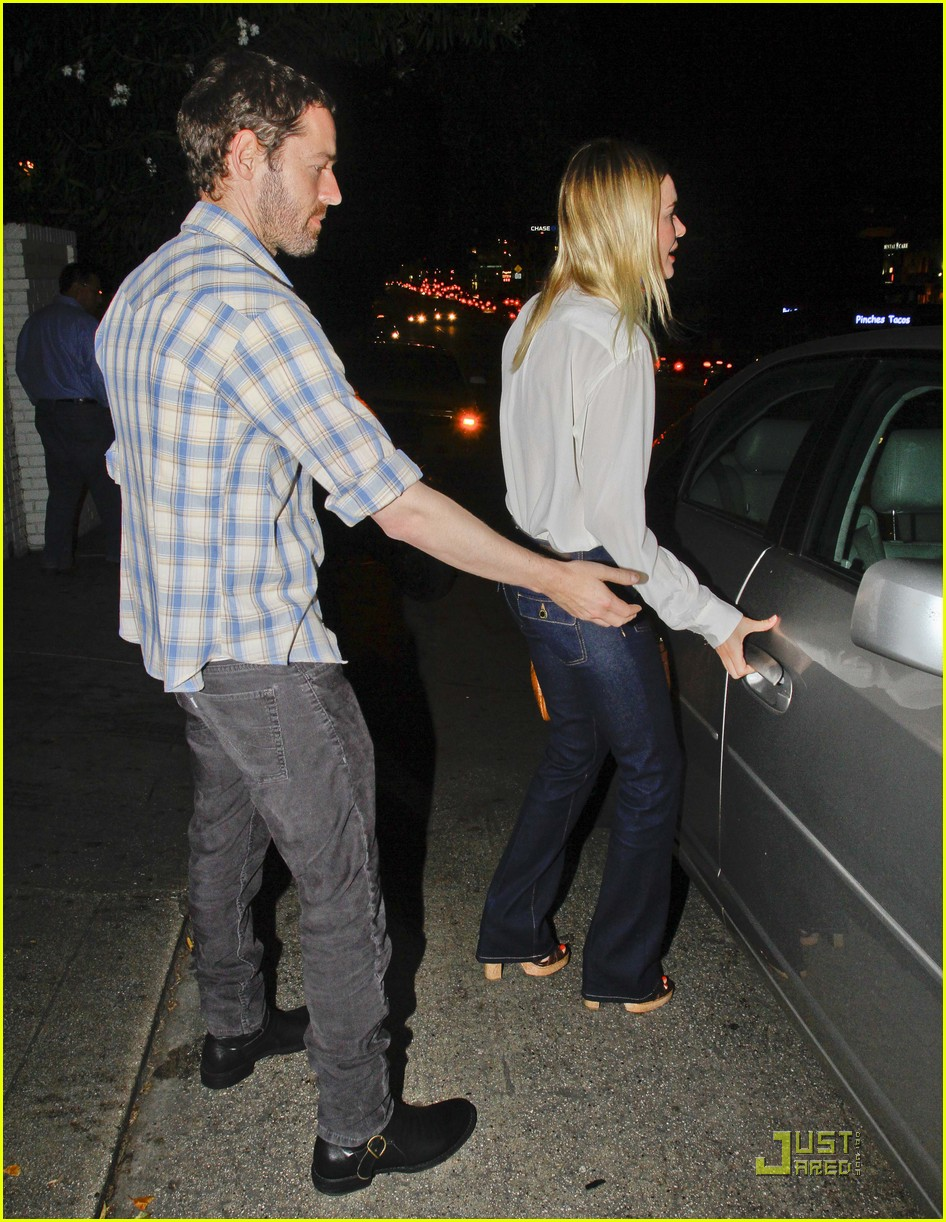 kate bosworth michael polish dinner 14