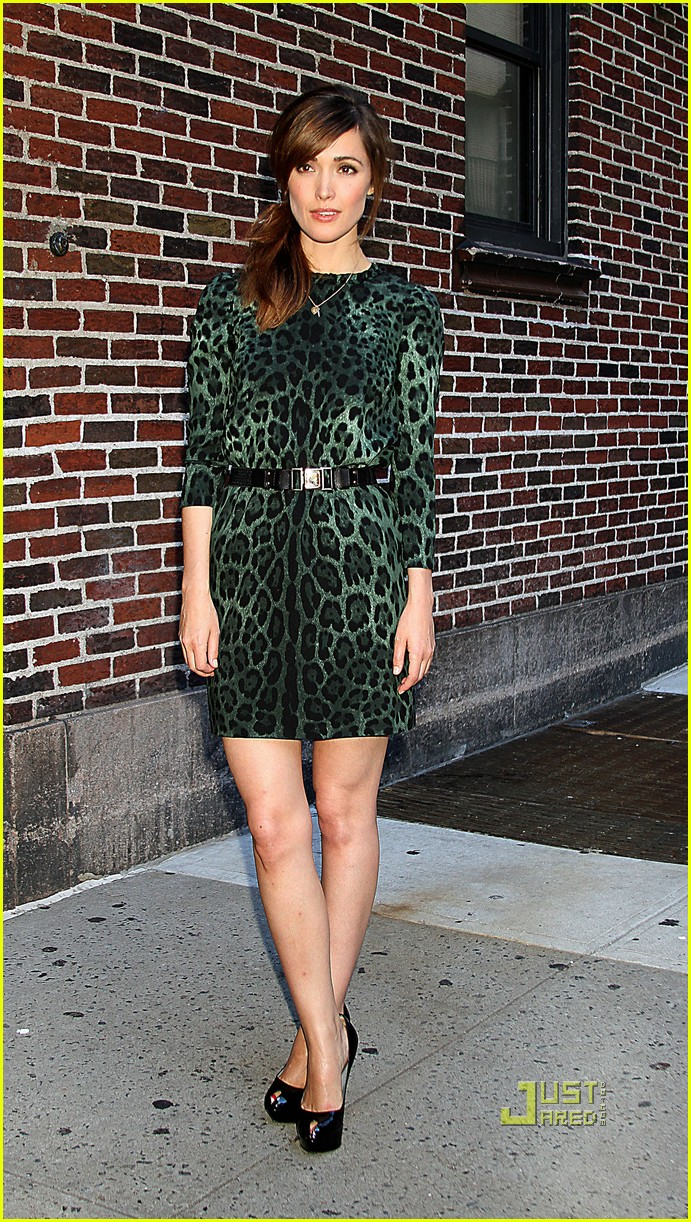 rose byrne david letterman 10