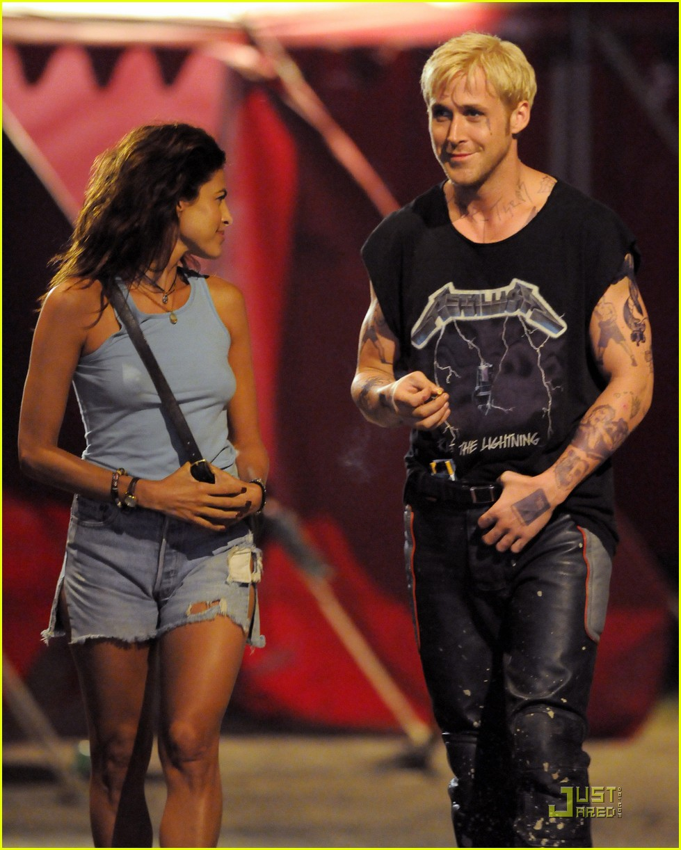 ryan gosling eva mendes more pines filming 062571570