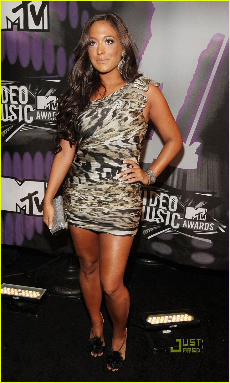 jersey shore mtv vmas 2011 red carpet 07