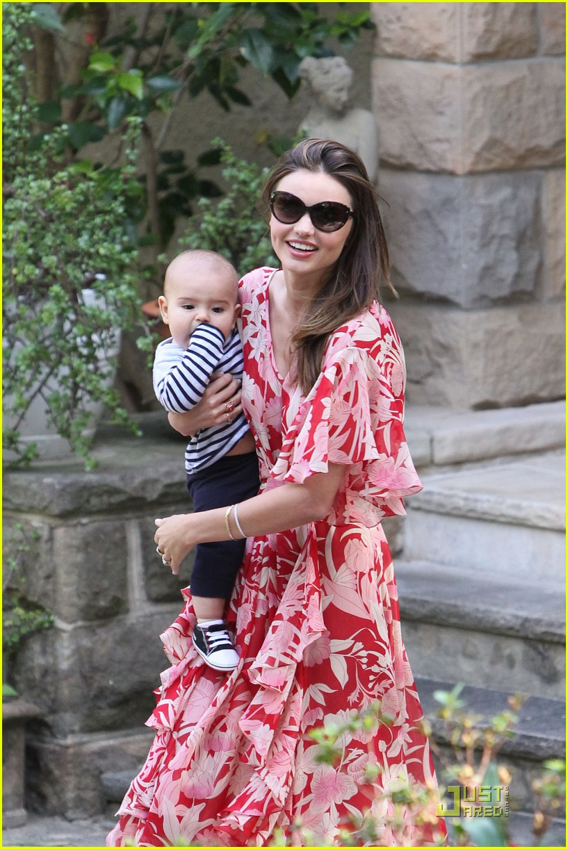 miranda kerr flynn red maxi dress 03