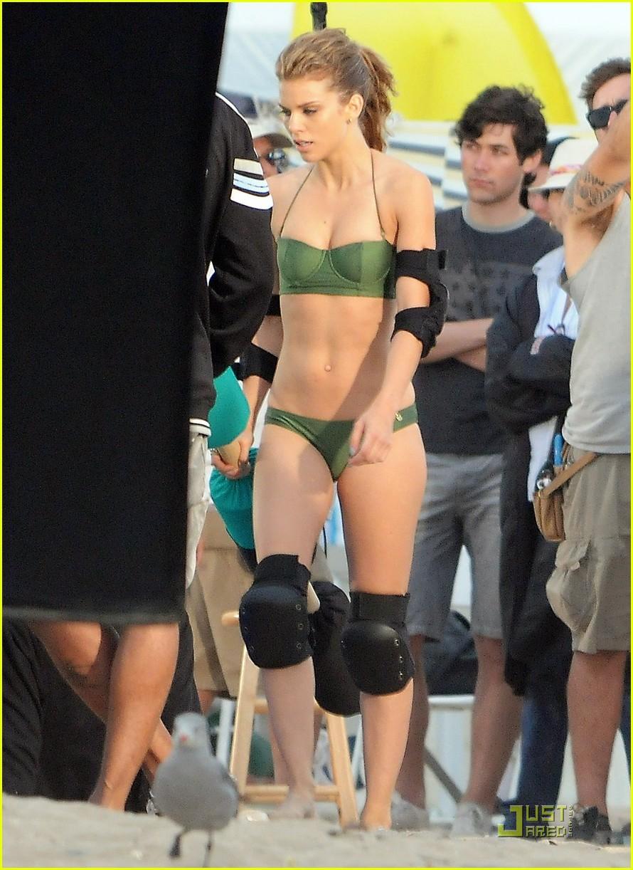 annalynne mccord slime bikini 01