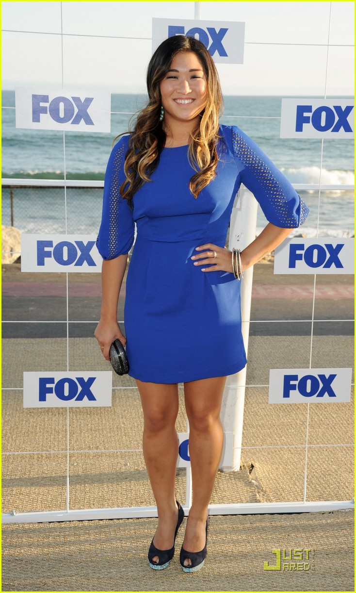 lea michele jenna ushkowitz fox allstar party 05