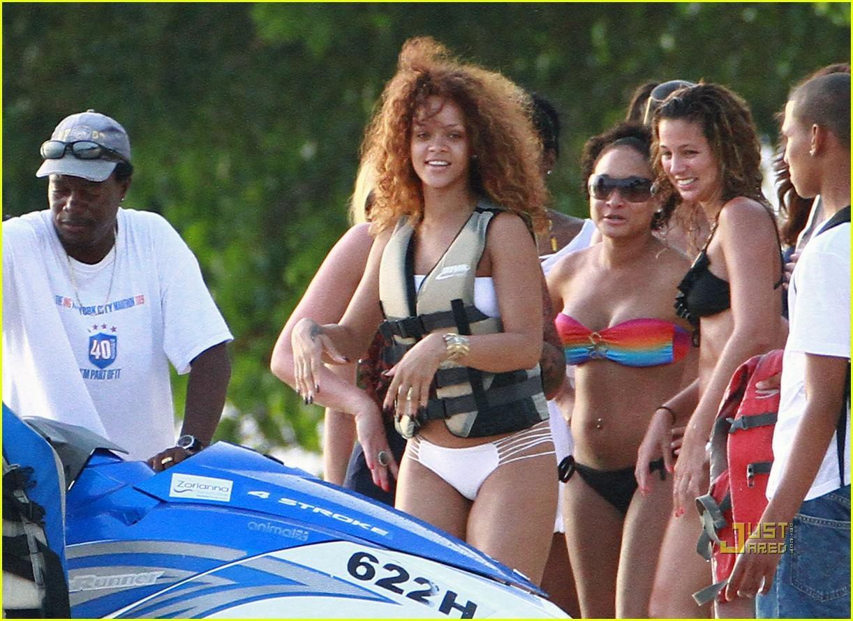 rihanna bikini beach barbados 102566808