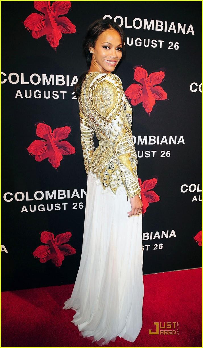 zoe saldana colombiana miami premiere 03