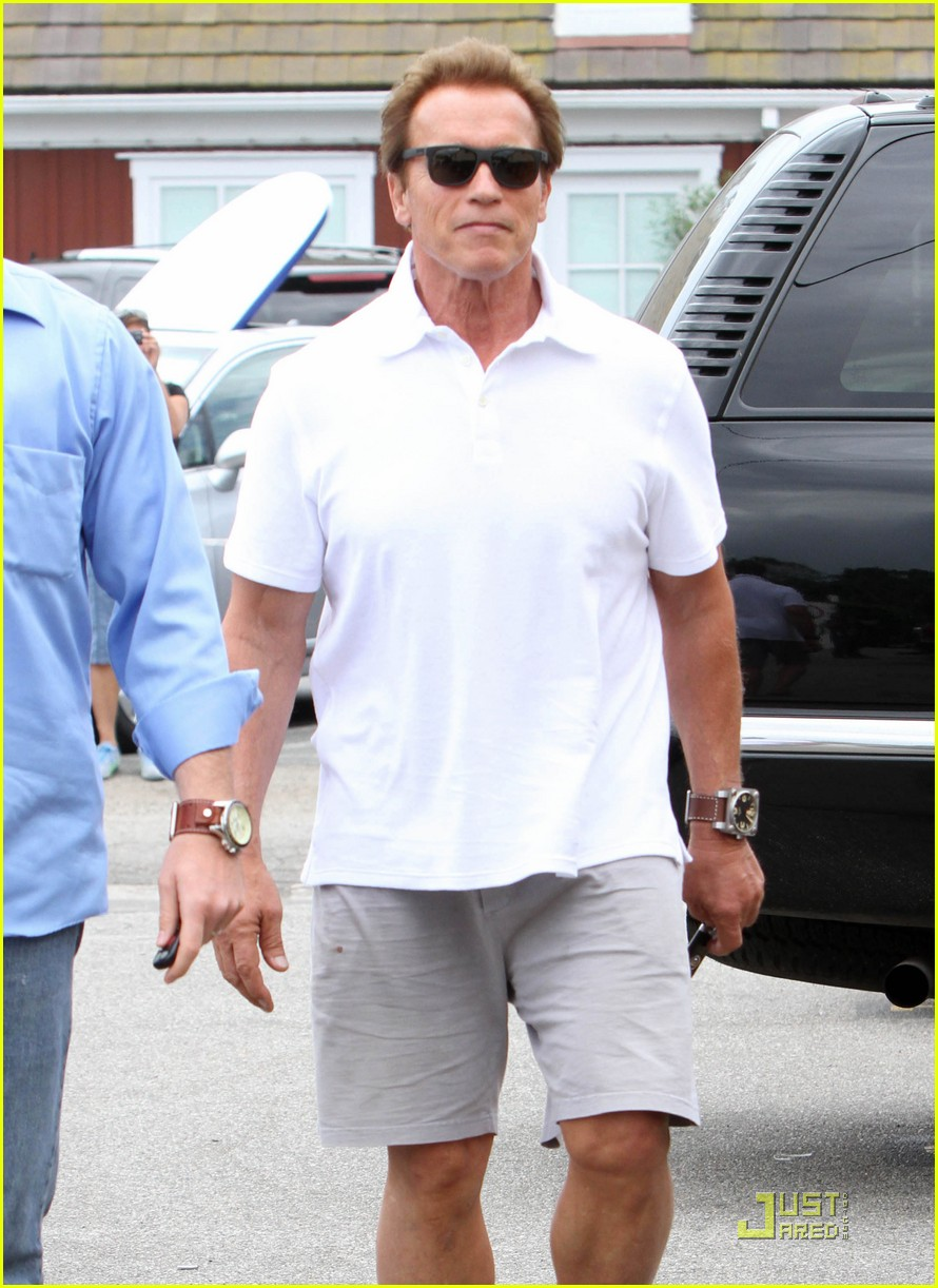 maria shriver arnold schwarzenegger birthday 08