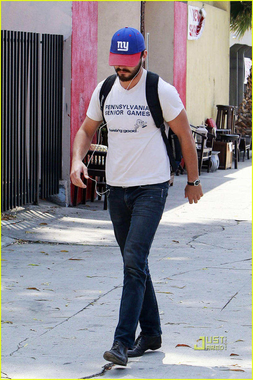 shia labeouf gym senior games shirt 03