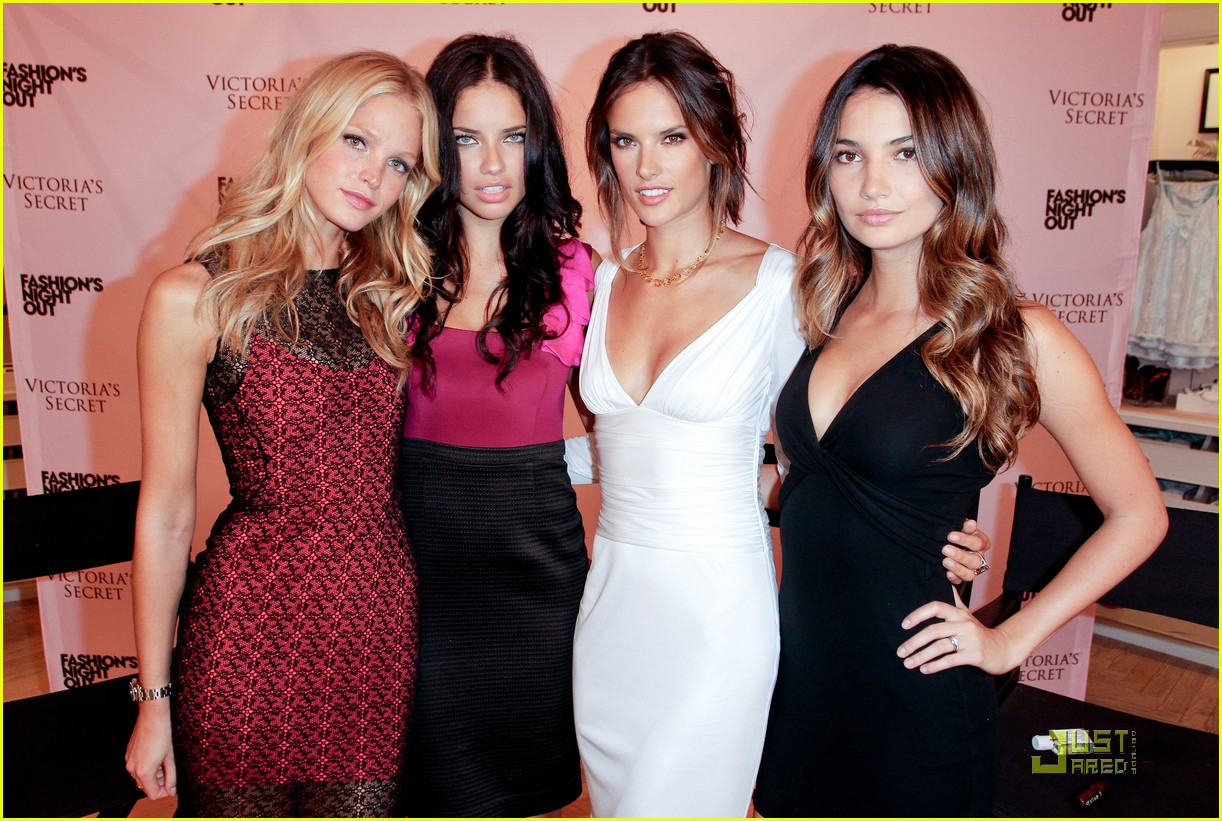alessandra ambrosio adriana lima fashions night out 04