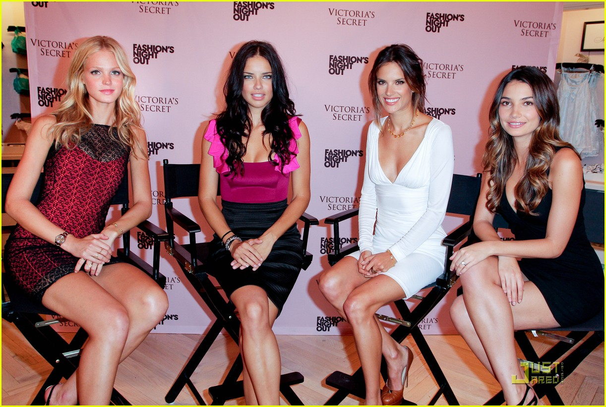 alessandra ambrosio adriana lima fashions night out 23