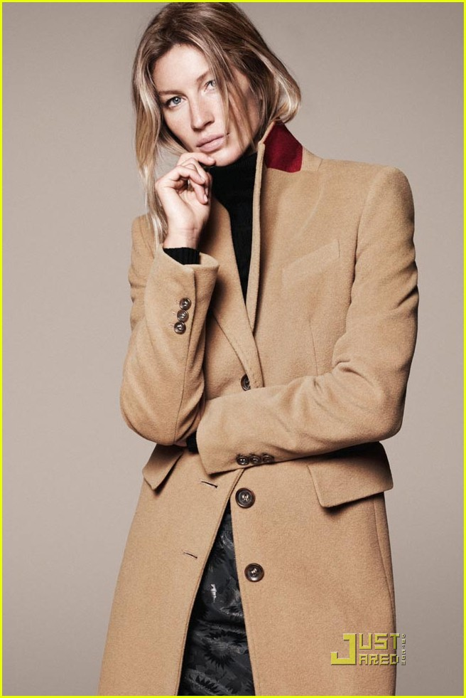 gisele bundchen esprit fall winter 2011 campaign 02