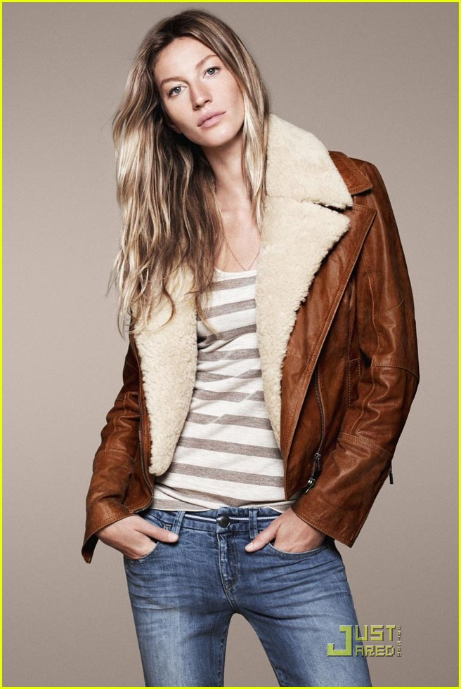gisele bundchen esprit fall winter 2011 campaign 06