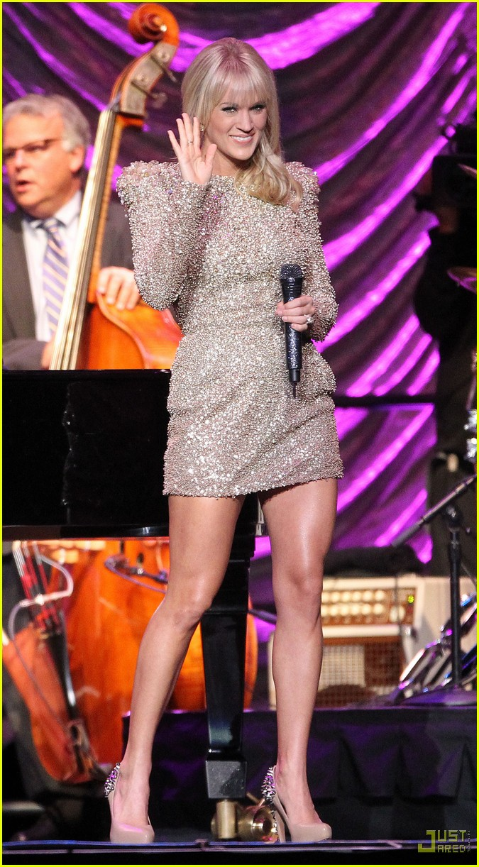 carrie underwood tony bennett staples center 052583934