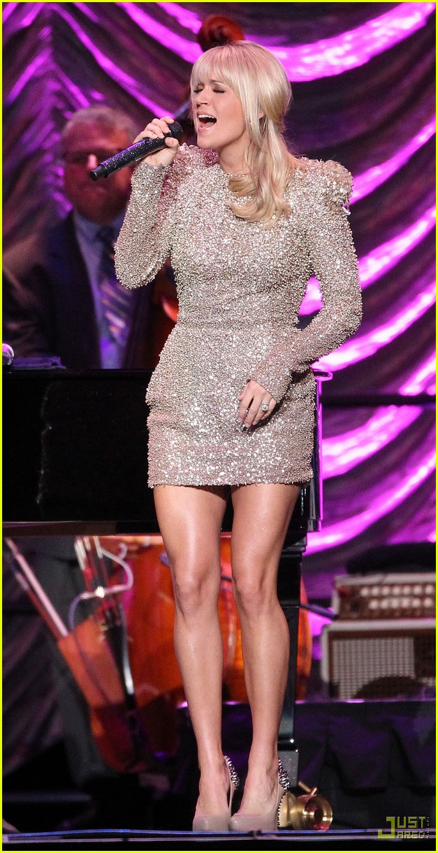 carrie underwood tony bennett staples center 08