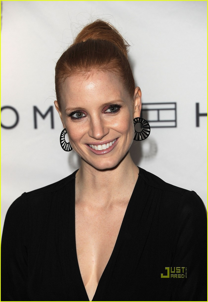 jessica chastain instyle hfpa event 03