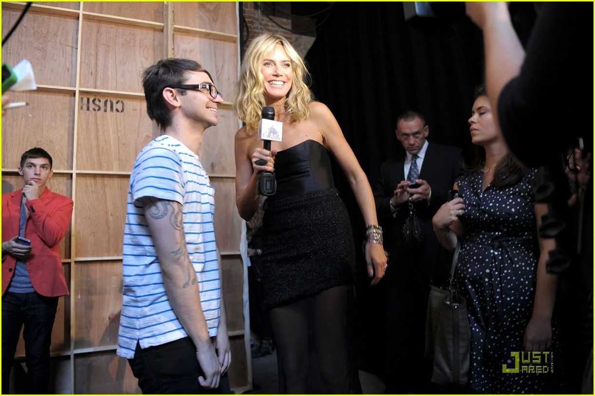 heidi klum project runway christian siriano fashion shows 12