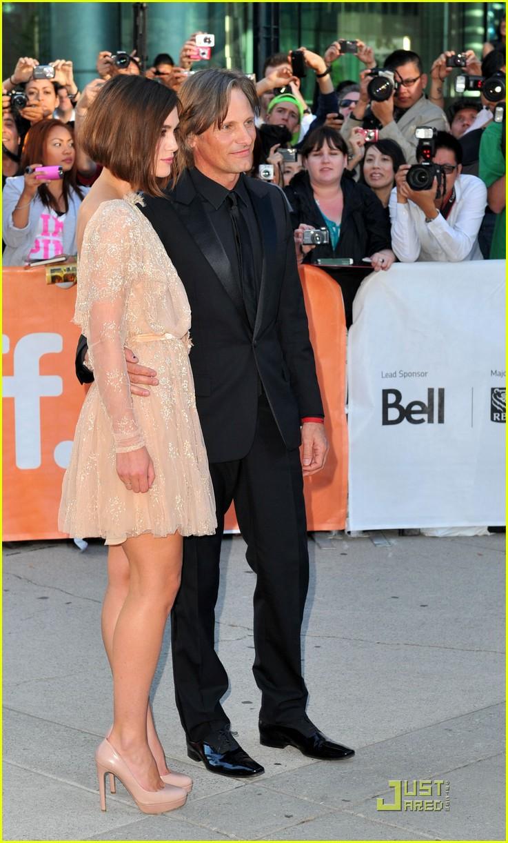 Keira Knightley: 'Dangerous Method' Premiere with Viggo Mortensen ...