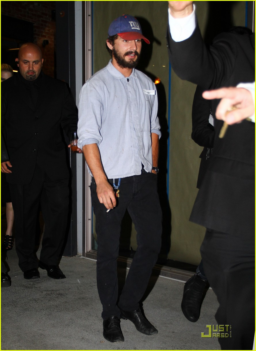 shia labeouf born villain launch party 03