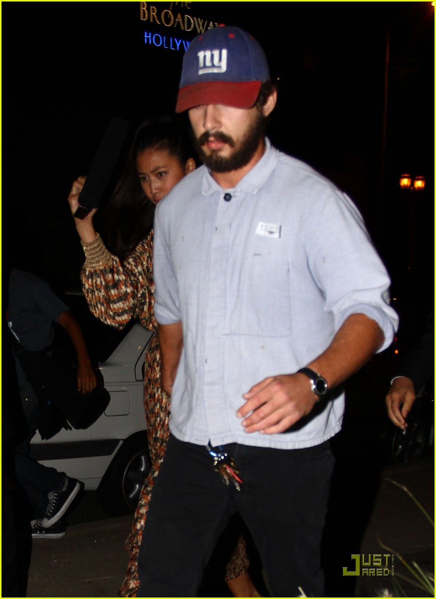 shia labeouf born villain launch party 082575884