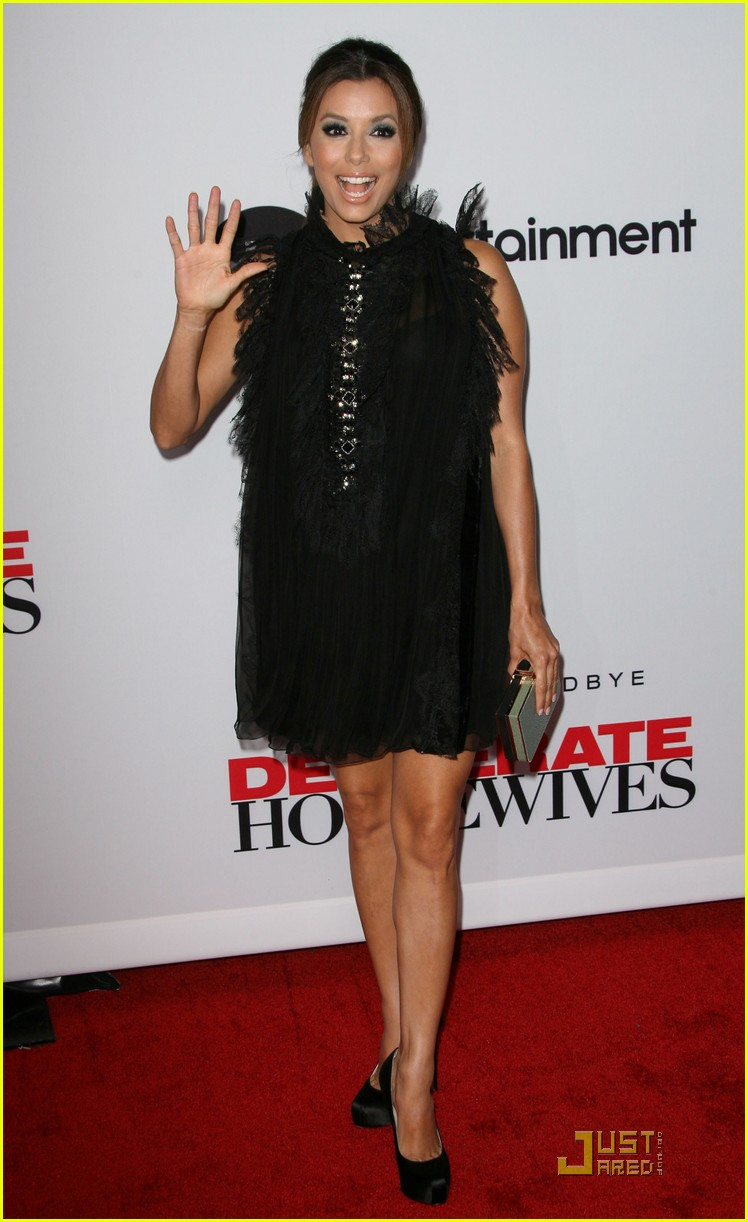 eva longoria desperate housewives final season party 072583153