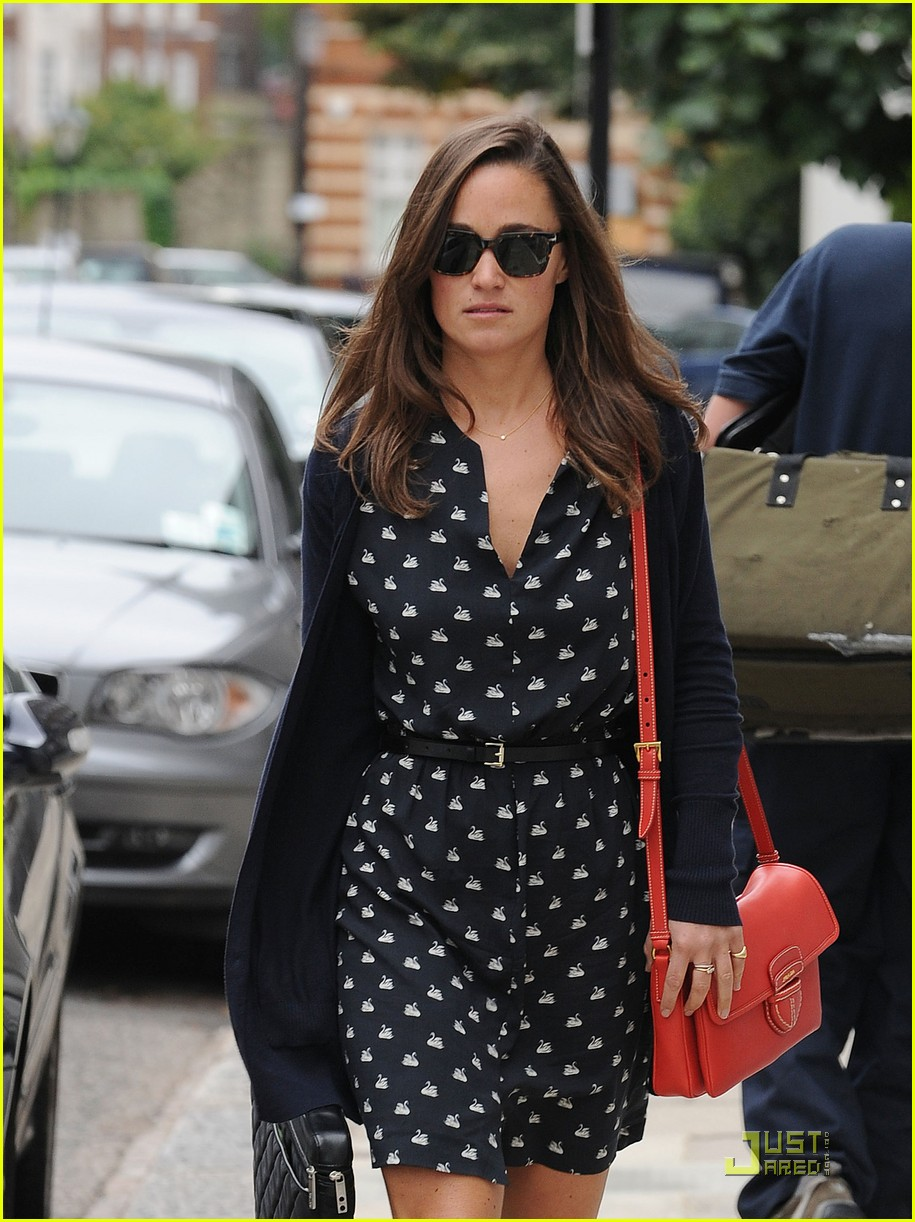 pippa middleton swan printed dress 032578847