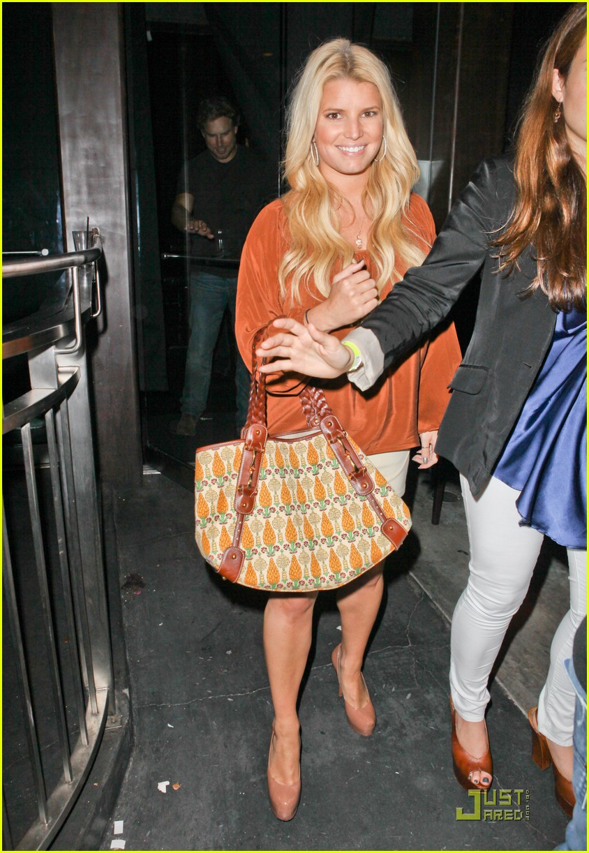 jessica simpson eric johnson one year engagement party 01