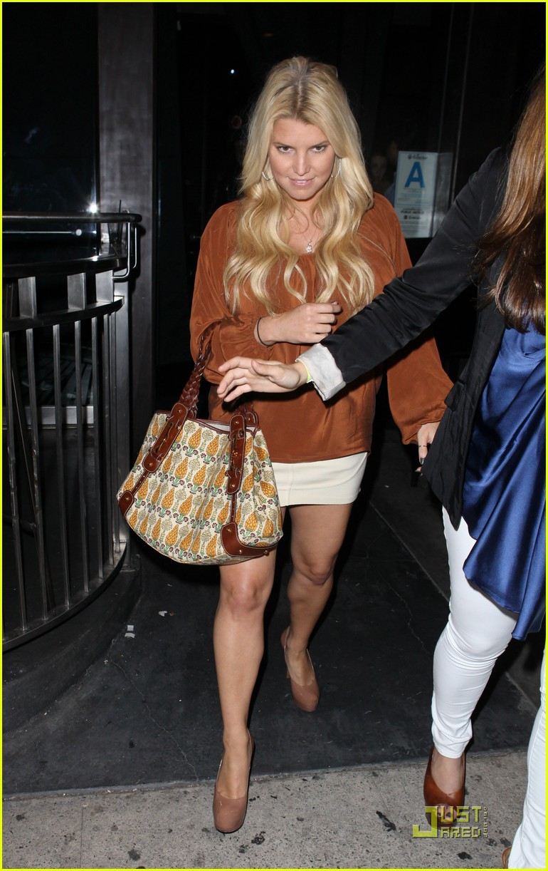jessica simpson eric johnson one year engagement party 08