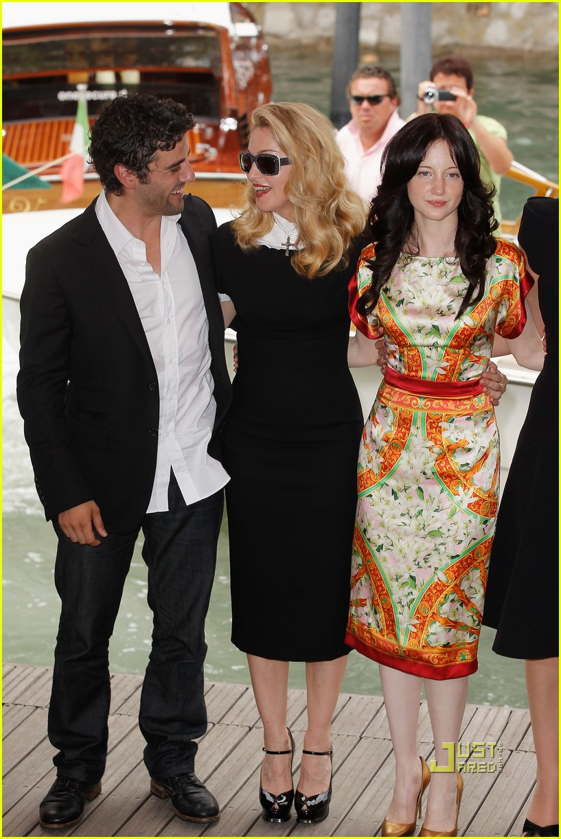 madonna we photo call venice film festival 02