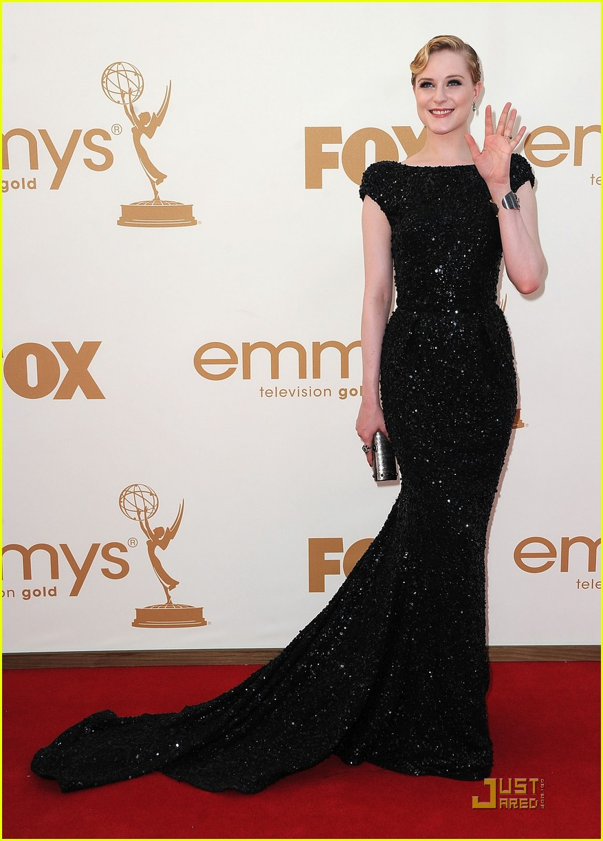 evan rachel wood emmys 2011 red carpet 05