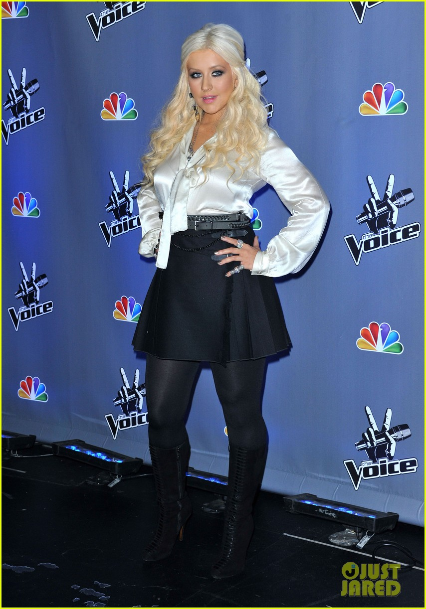 christina aguilera voice season two 07