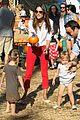 alessandra ambrosio pumpkin patch with anja 07