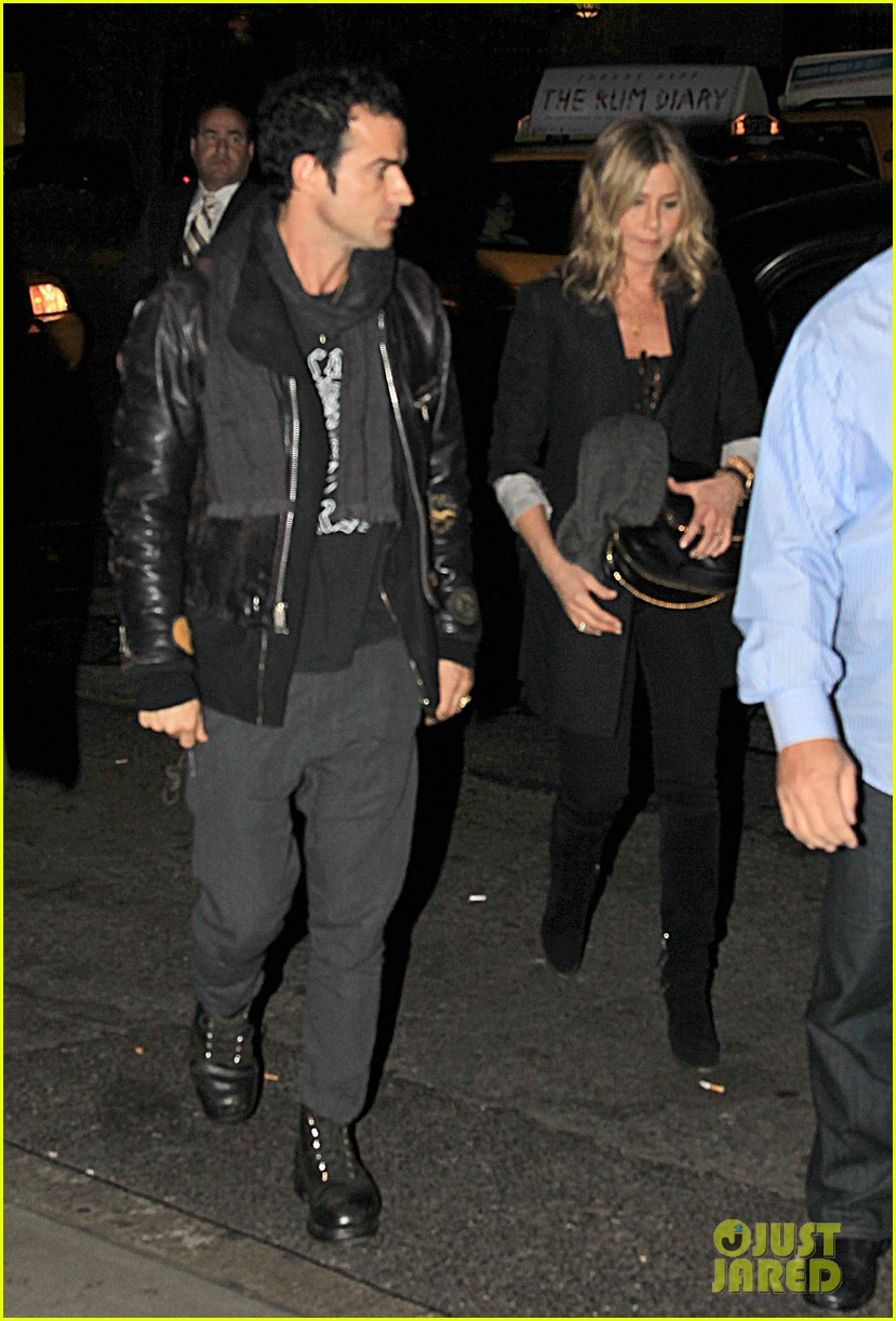 jennifer aniston justin theroux snl after party 04