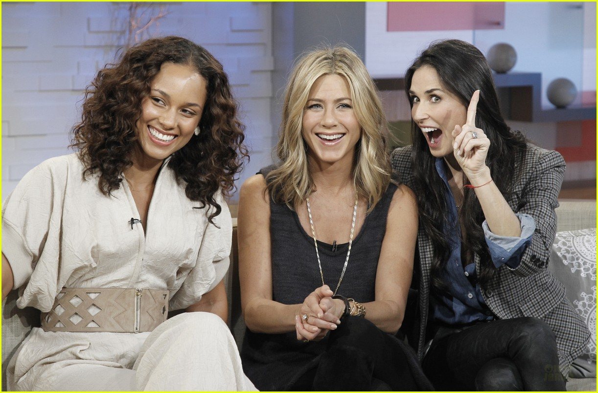 jennifer aniston demi moore alicia keys gma 03