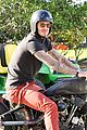 david beckham motorcycle beverly hills 08