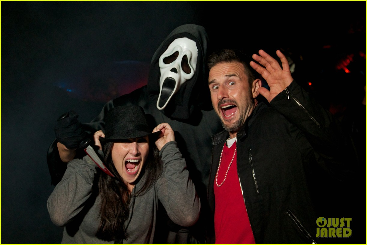 chad michael murray halloween horror night 04