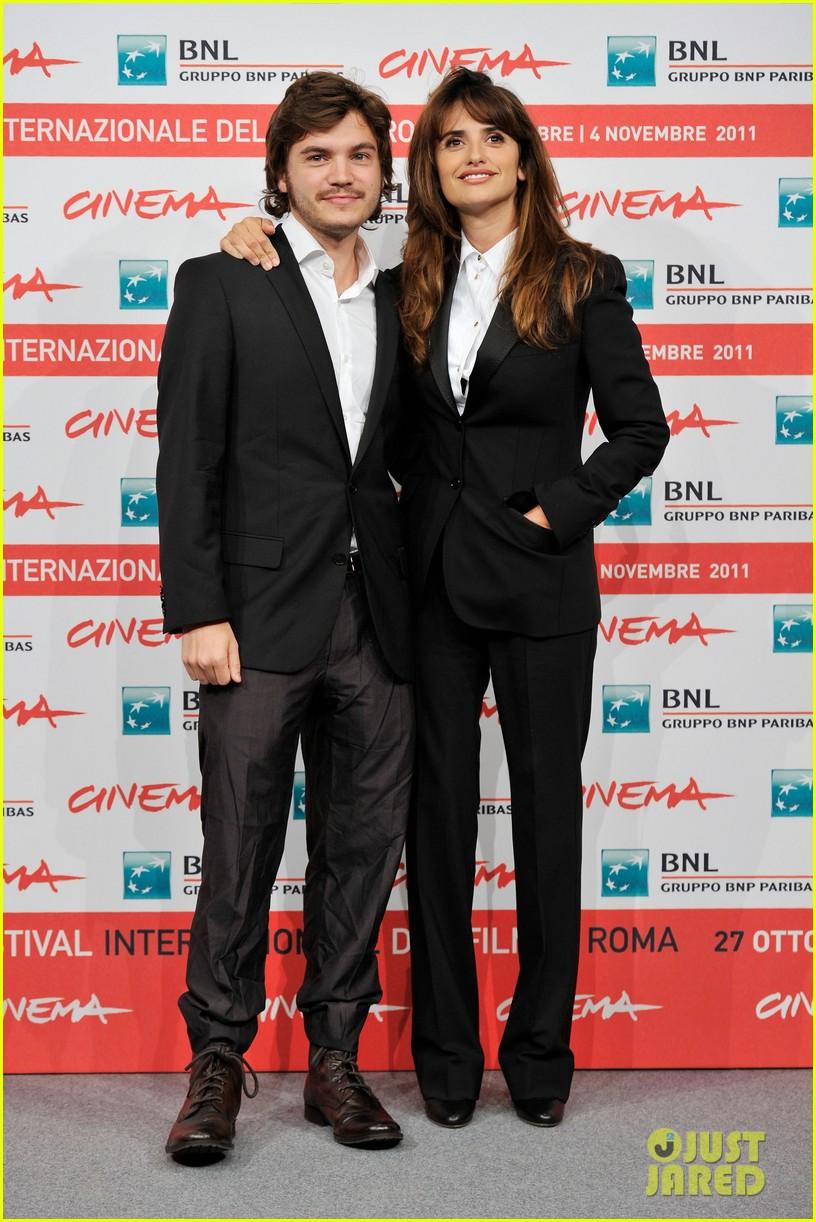 penelope cruz emile hirsch rome film festival 01