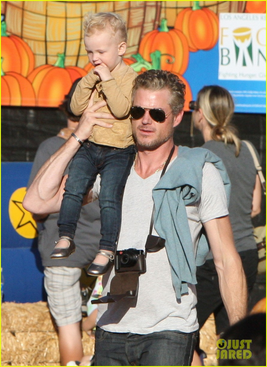 rebecca gayheart eric dane pumpkin patch with billie 042590747
